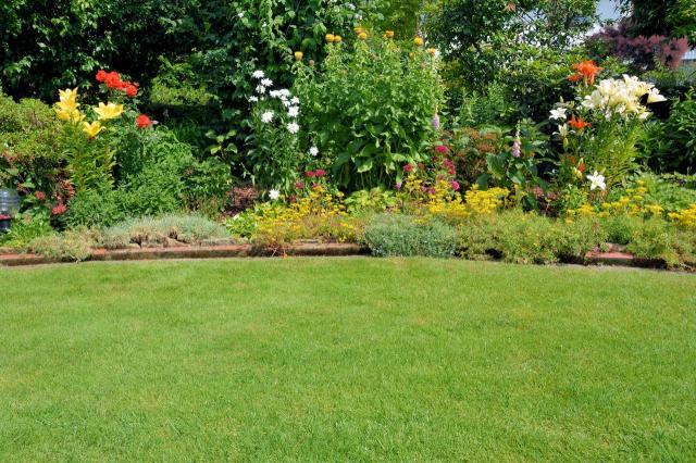 projekt ogrodu, kwiaty w ogrodzie, urządzanie ogrodu, duży ogród, aranżacja dużego ogrodu, jak urządzić ogród