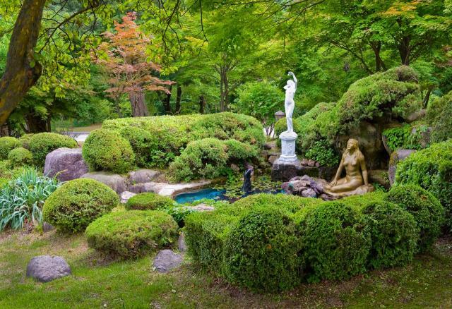 ogród, kompozycje roślinne, magiczne ogrody, aranżacje ogrodów, projekty ogrodów, ogrody naturalistyczne