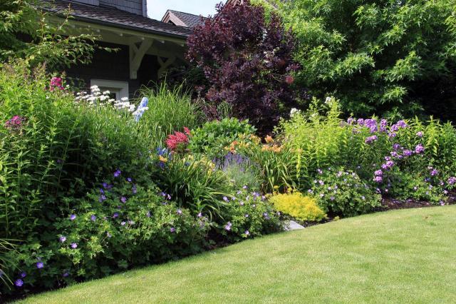 ogrody duże, ogrody angielskie, ogrody wiejskie, ogród, kompozycje roślinne, projekty ogrodów, aranżacja ogrodów, ogrodu przydomowe