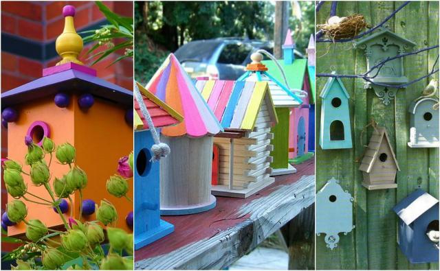 Bajkowe domki dla ptaków DIY. To najlepsza pora na ich wykonanie!